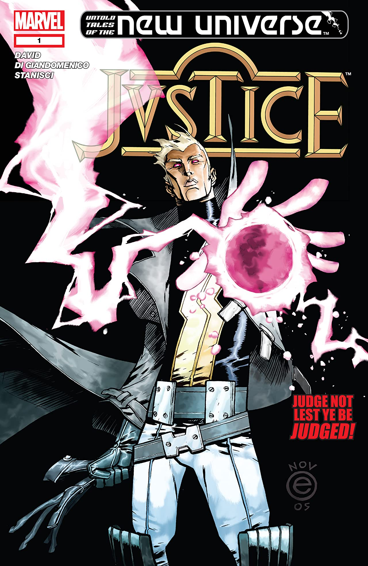 Untold Tales of the New Universe: Justice (2006) #1
