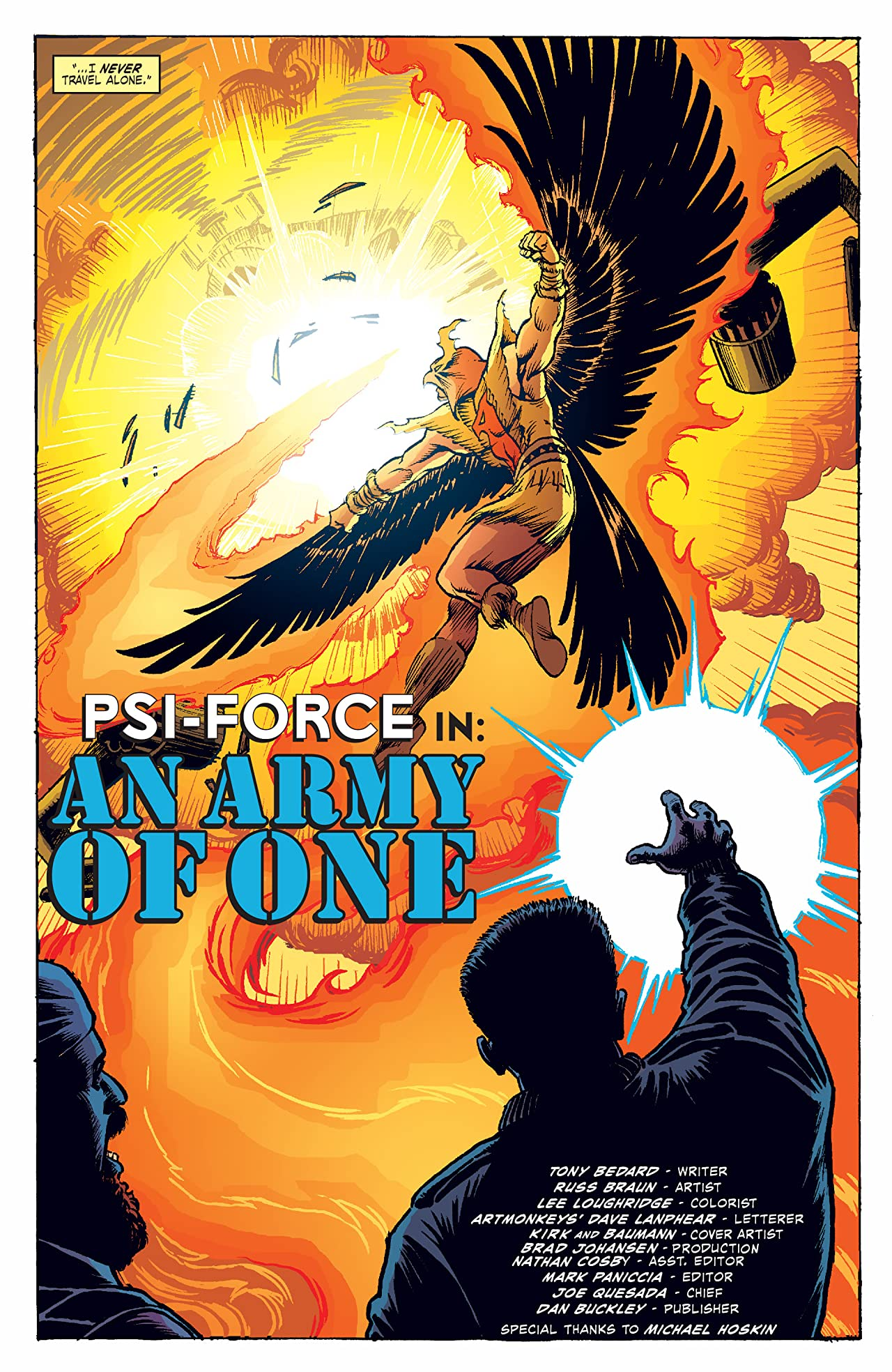 Untold Tales of the New Universe: Psi-Force (2006) #1
