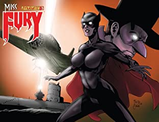 Miss Fury Digital #6