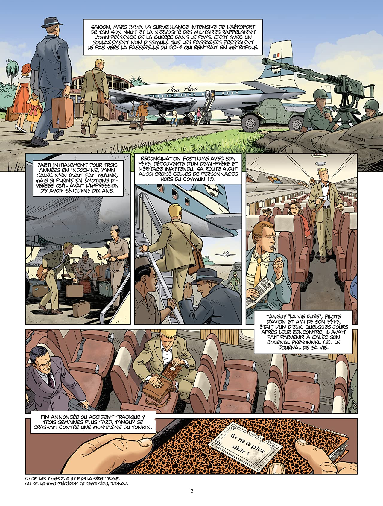 L'Aviateur Vol. 2: L'apprentissage