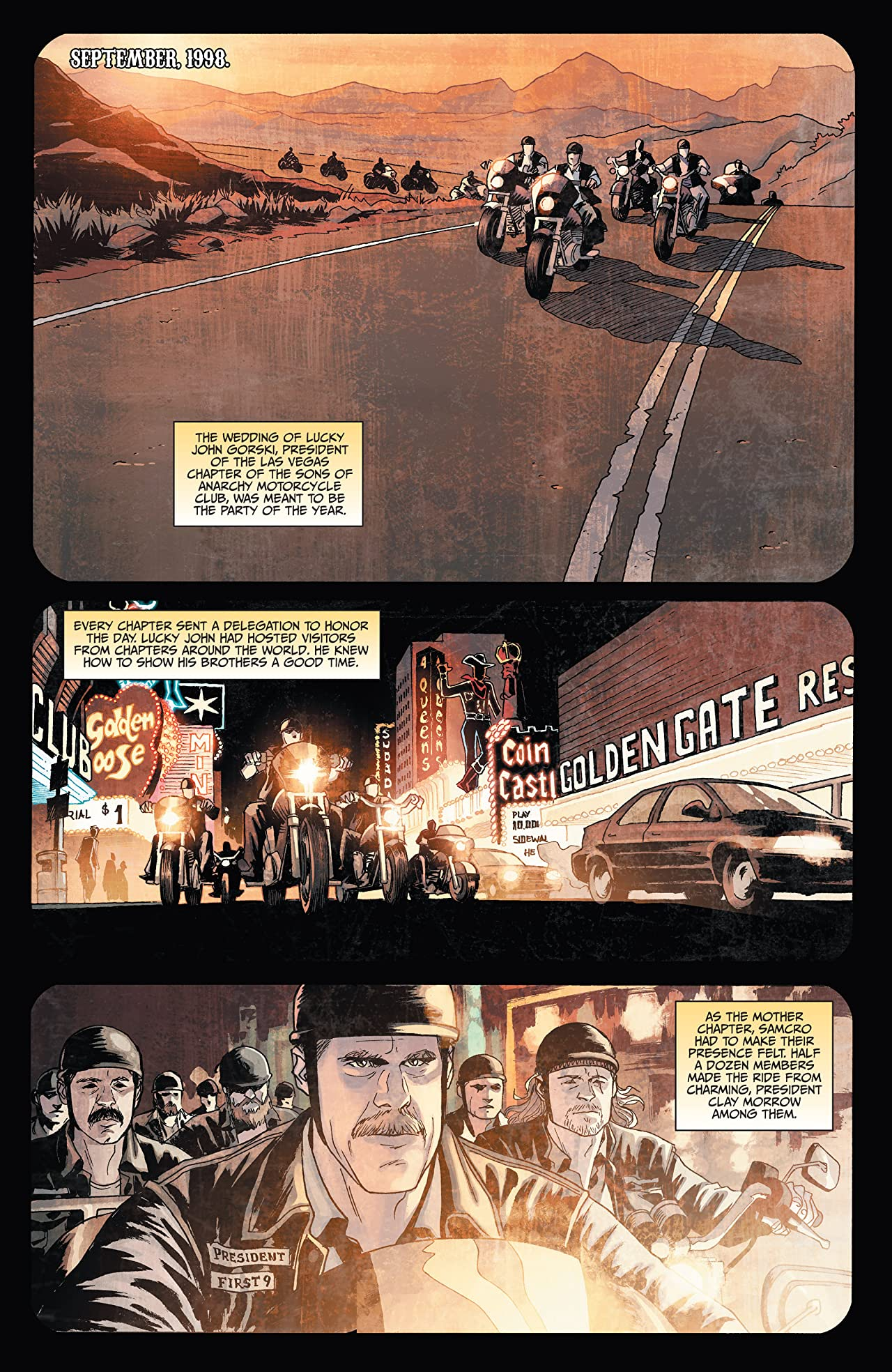 Sons of Anarchy #2 (of 6)