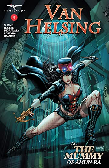 Van Helsing vs. The Mummy of Amun-Ra #4