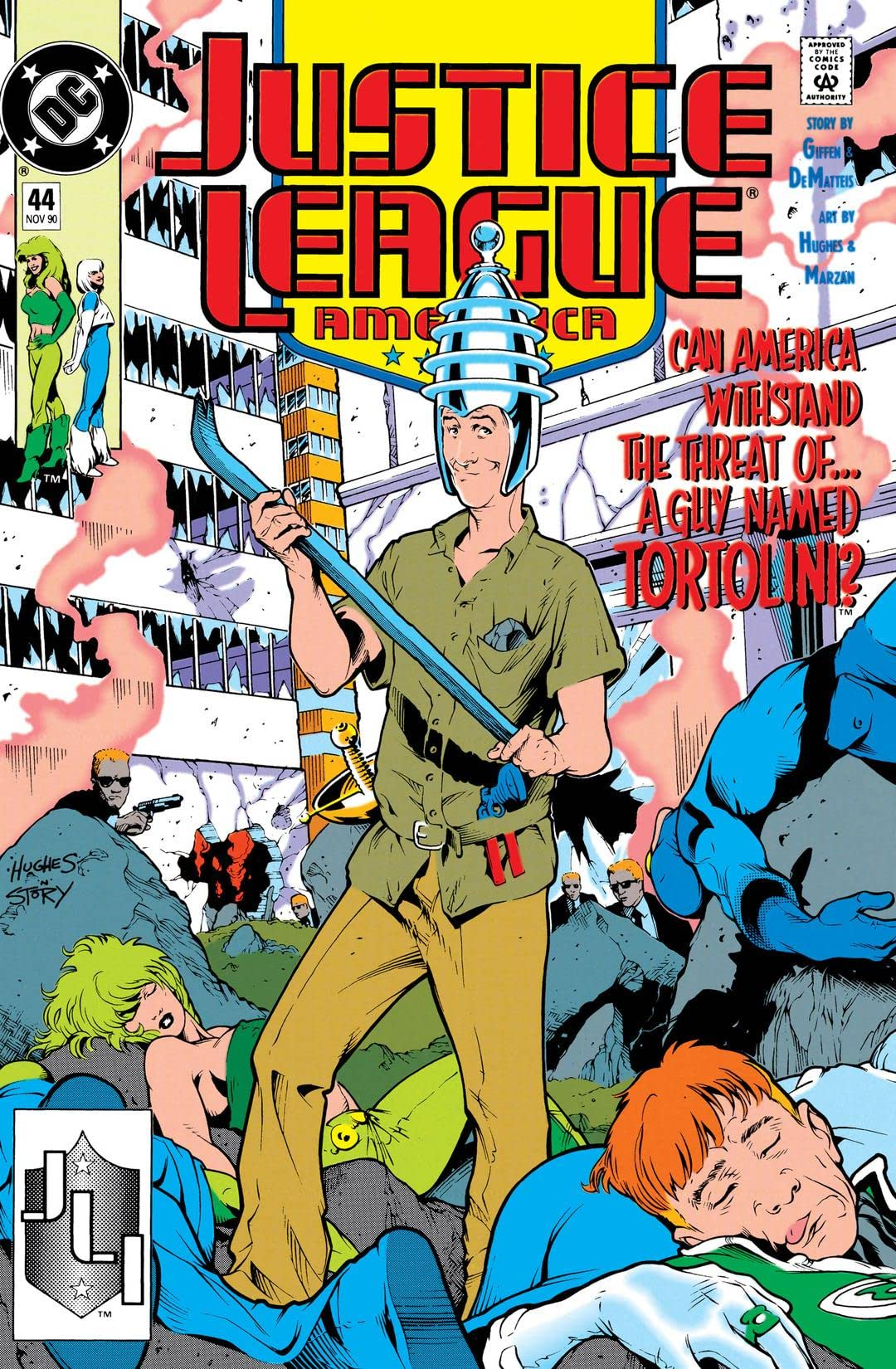 Justice League America (1987-1996) #44