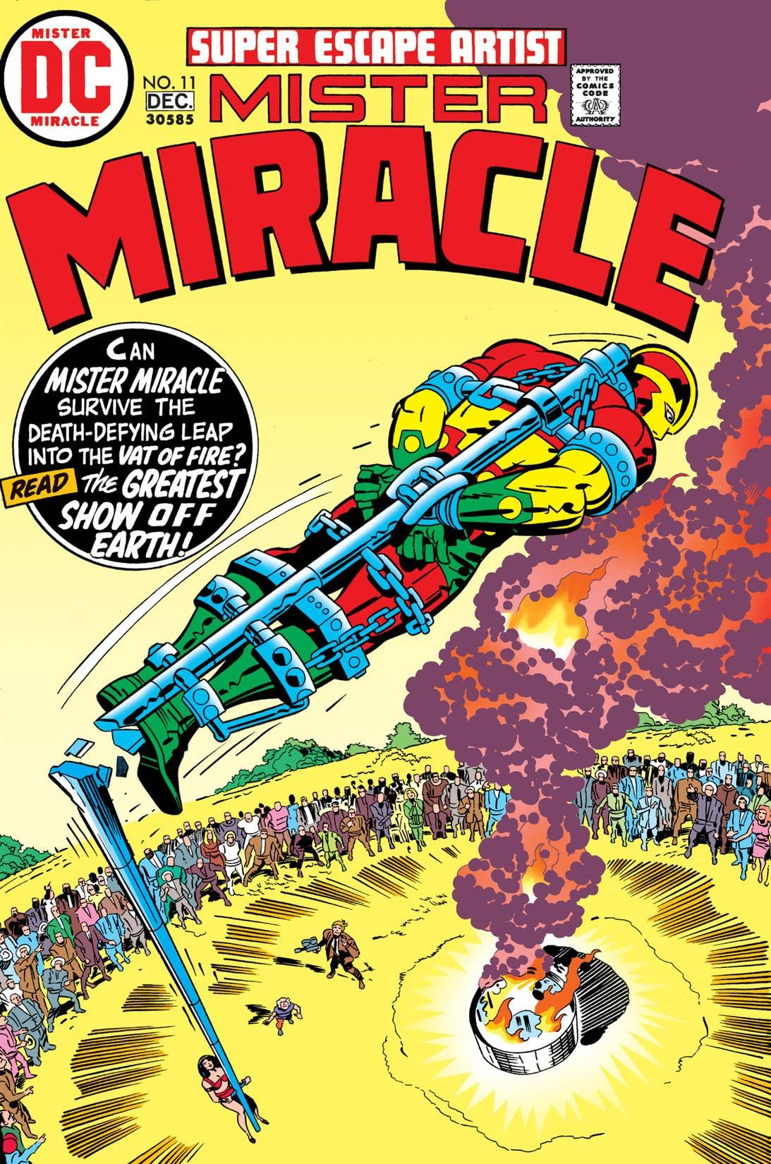 Mister Miracle (1971-1978) #11