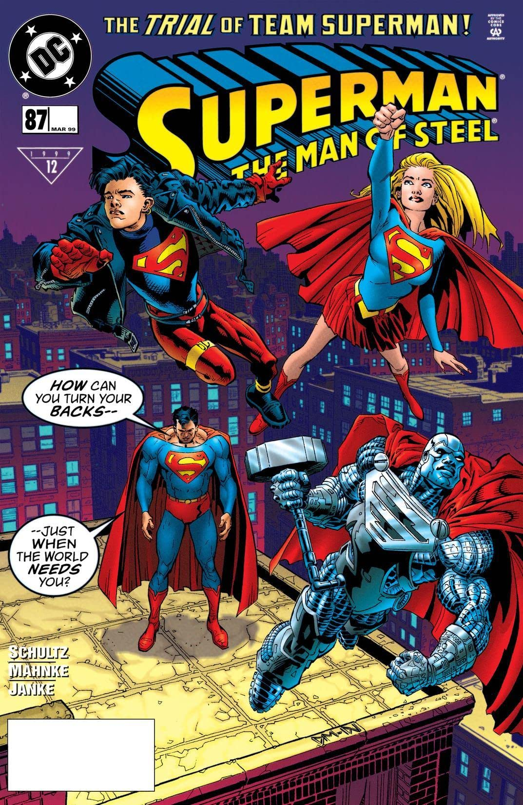 Superman: The Man of Steel (1991-2003) #87