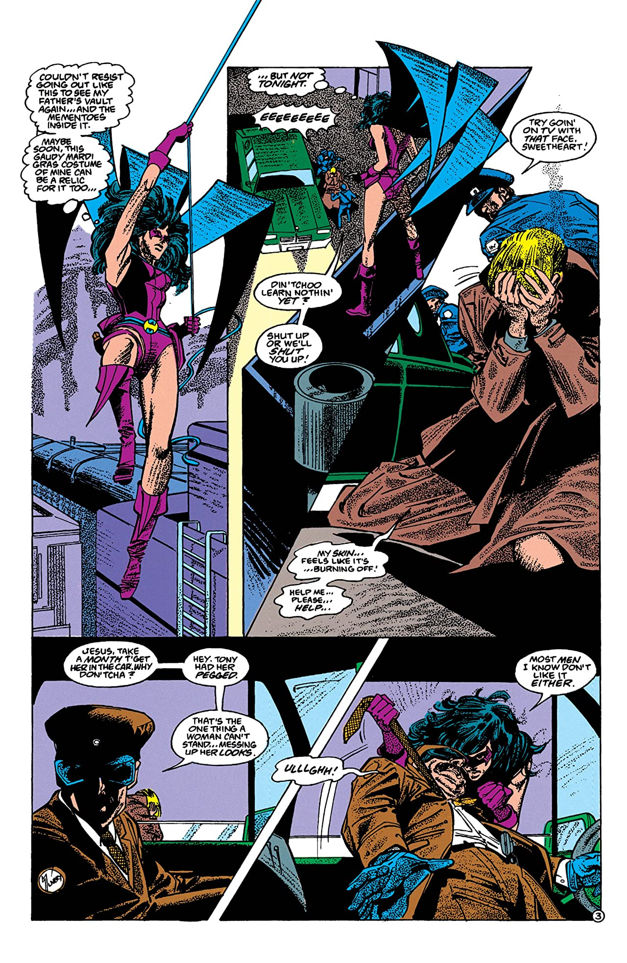 The Huntress (1989-1990) #7