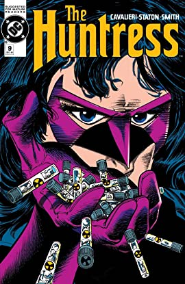 The Huntress (1989-1990) #9