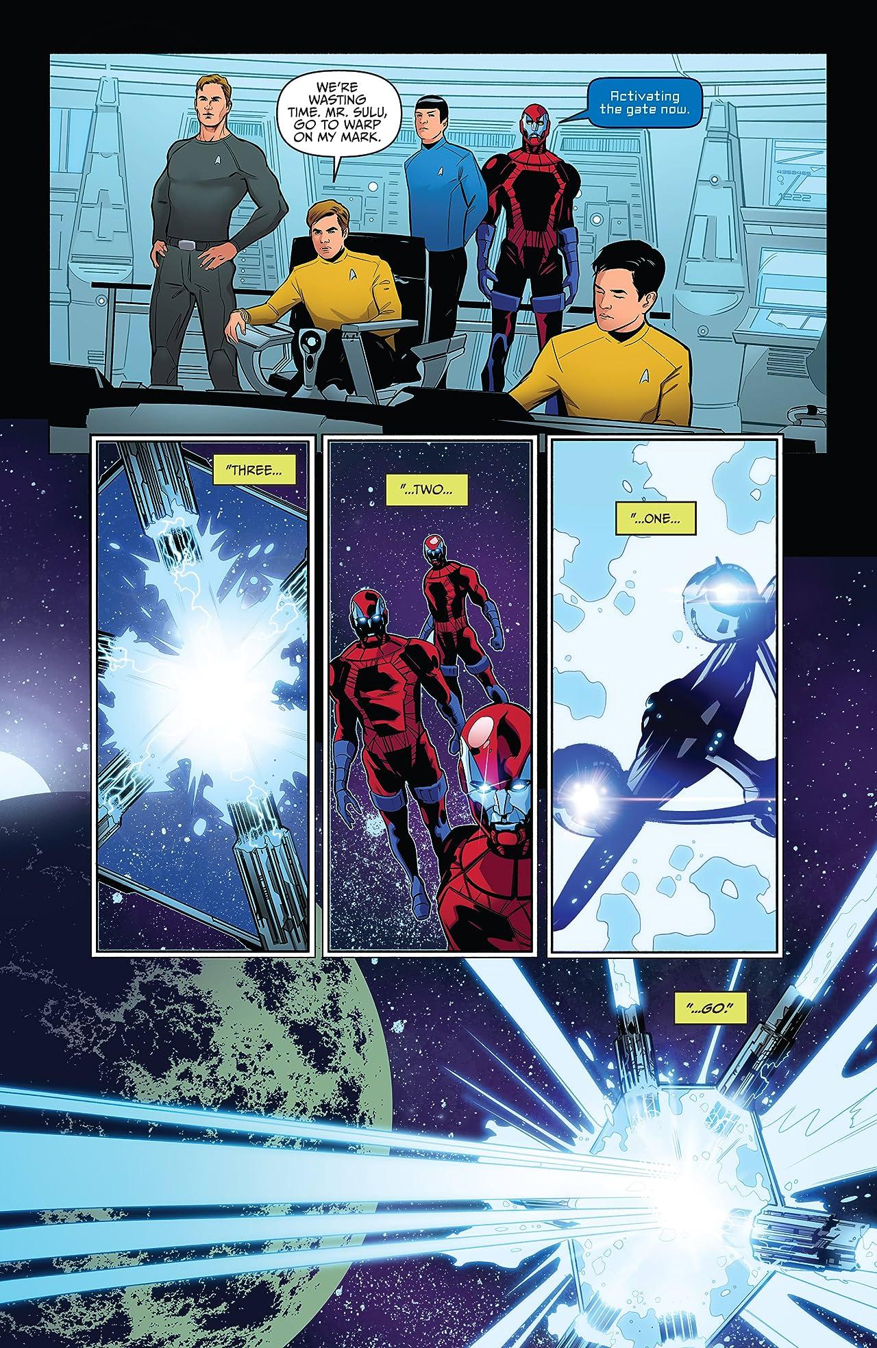 Star Trek/Green Lantern Vol. 2 #5
