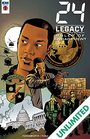 24: Legacy - Rules of Engagement #1 (of 5)