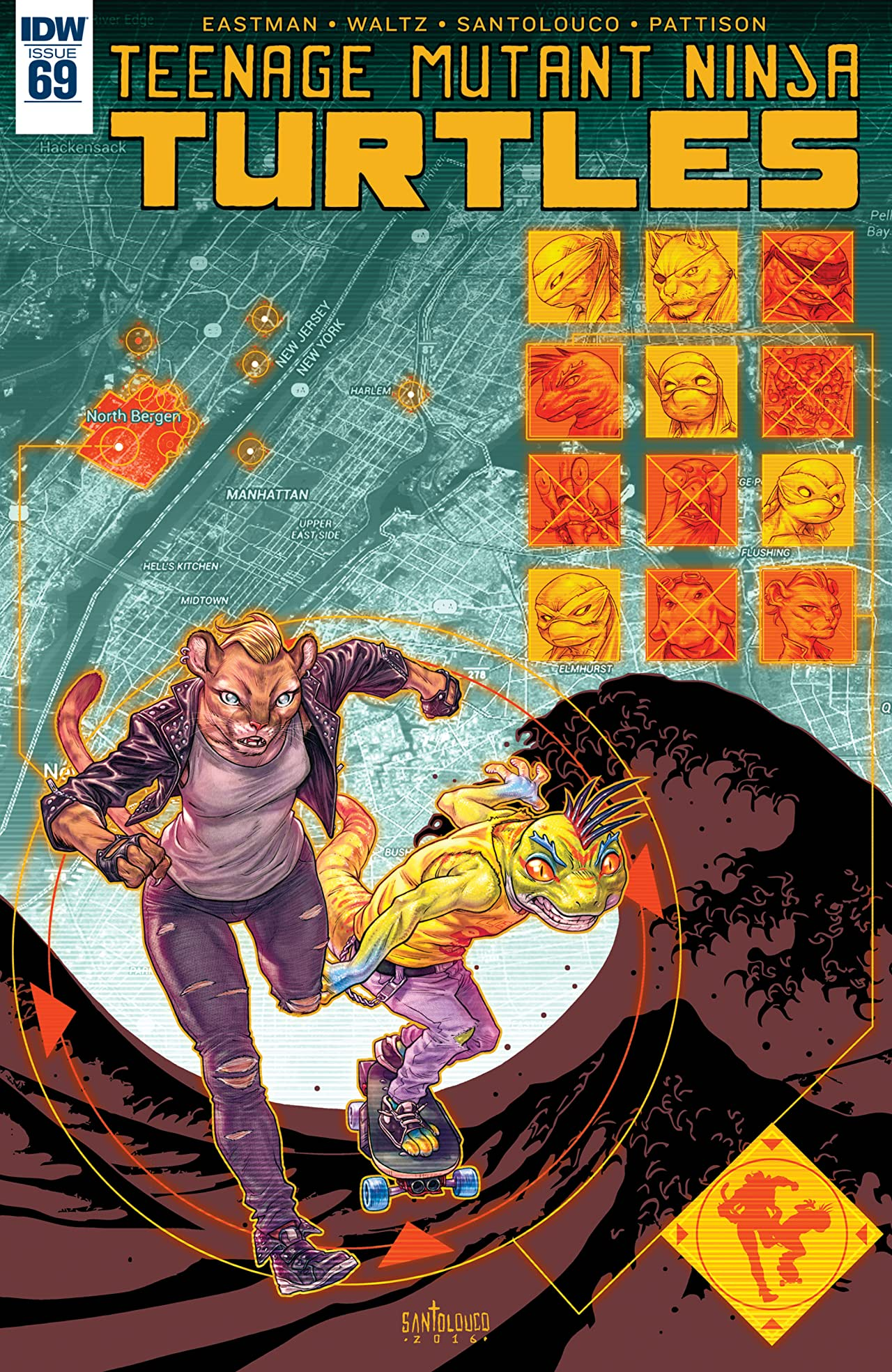 Teenage Mutant Ninja Turtles #69