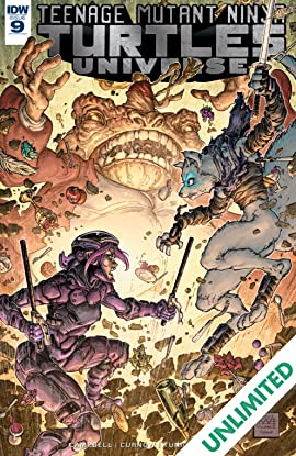 Teenage Mutant Ninja Turtles Universe #9