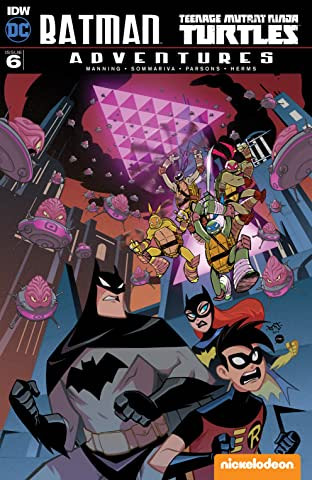 Batman/Teenage Mutant Ninja Turtles Adventures #6