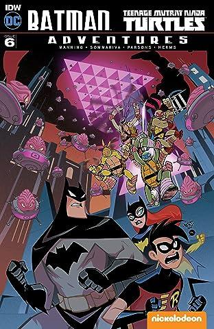 Batman/Teenage Mutant Ninja Turtles Adventures No.6