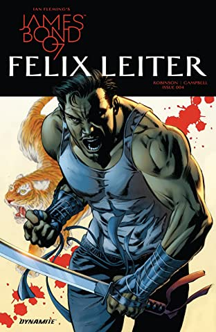 James Bond: Felix Leiter (2017) #4 (of 6)