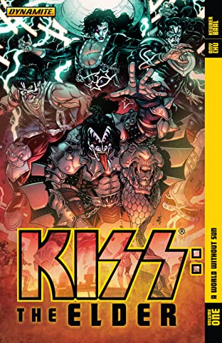 Kiss: The Elder Tome 1: A World Without Sin