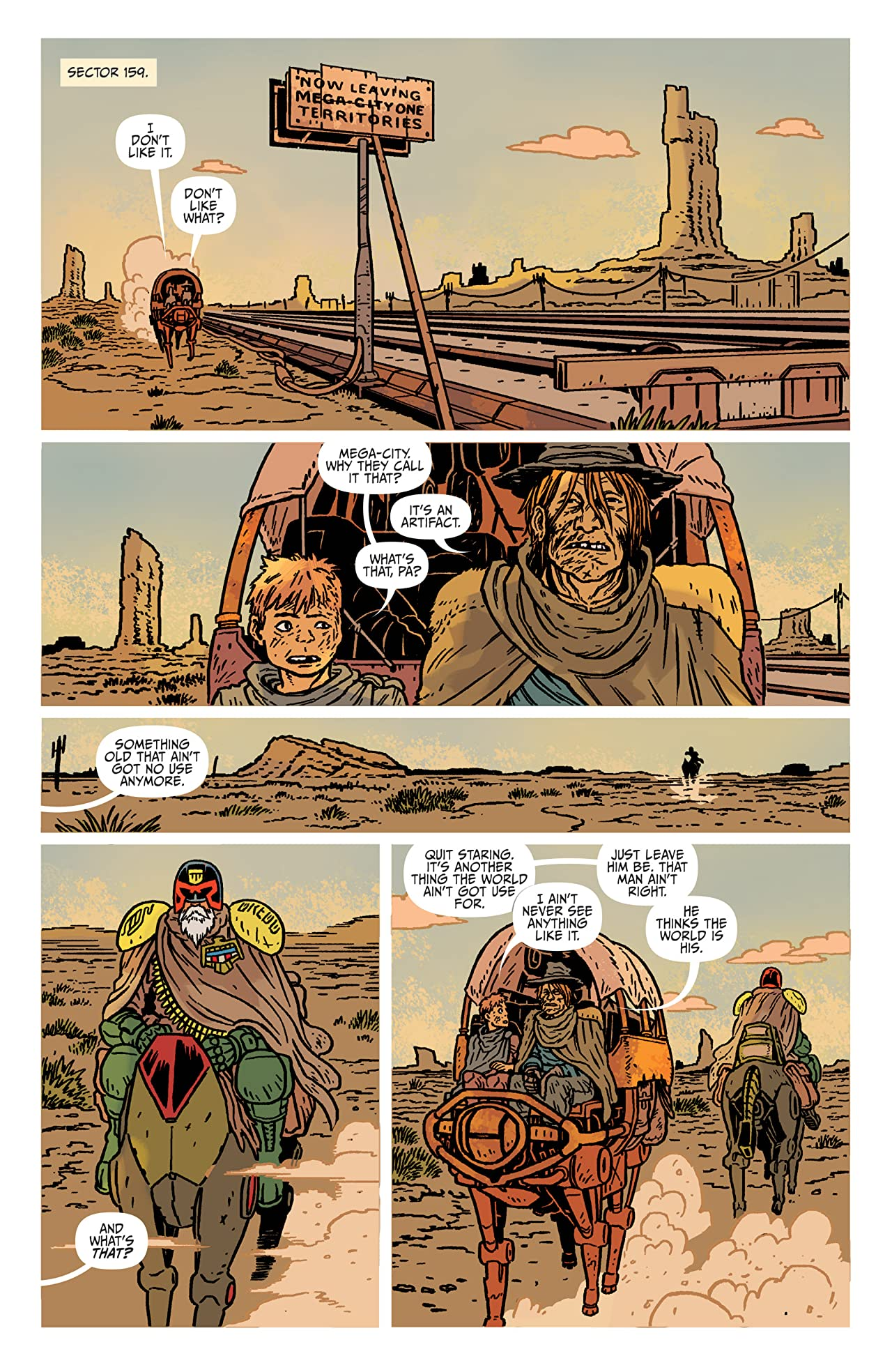 Judge Dredd: The Blessed Earth #1