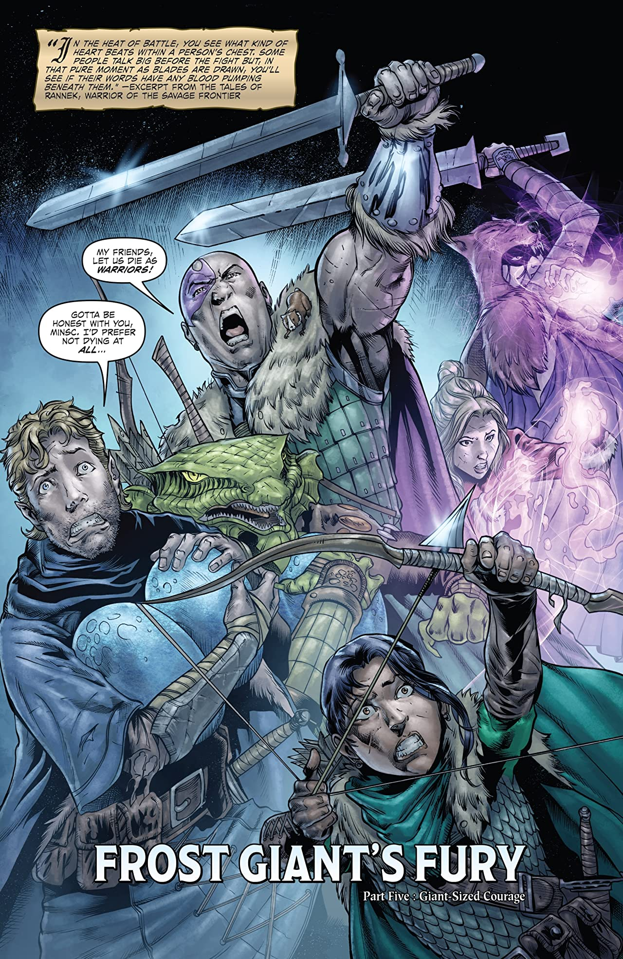 Dungeons & Dragons: Frost Giant's Fury #5