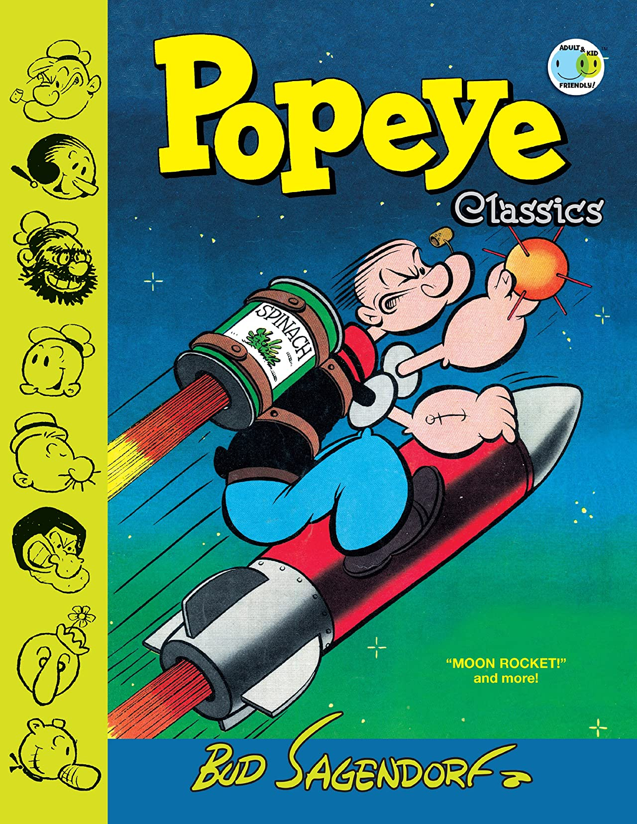 "Popeye Classics Vol. 10: ""Moon Rocket"" And More"
