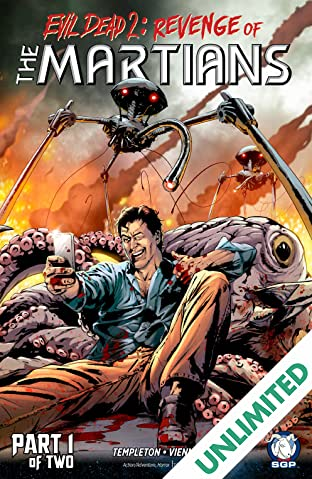 Evil Dead 2: Revenge of The Martians #1