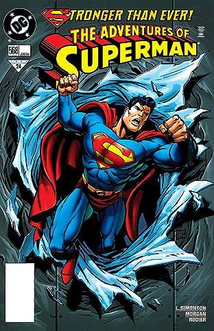 Adventures of Superman (1986-2006) #568