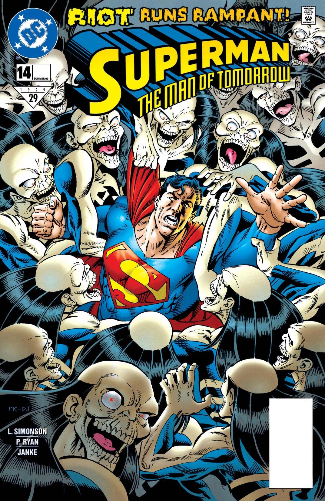 Superman: The Man of Tomorrow (1995-1999) #14
