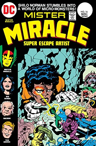 Mister Miracle (1971-1978) #16
