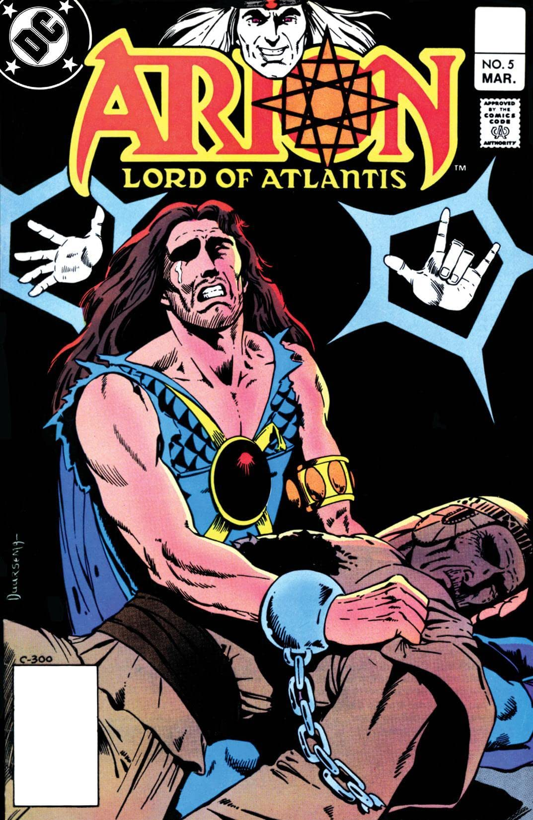 Arion, Lord of Atlantis (1982-1985) #5