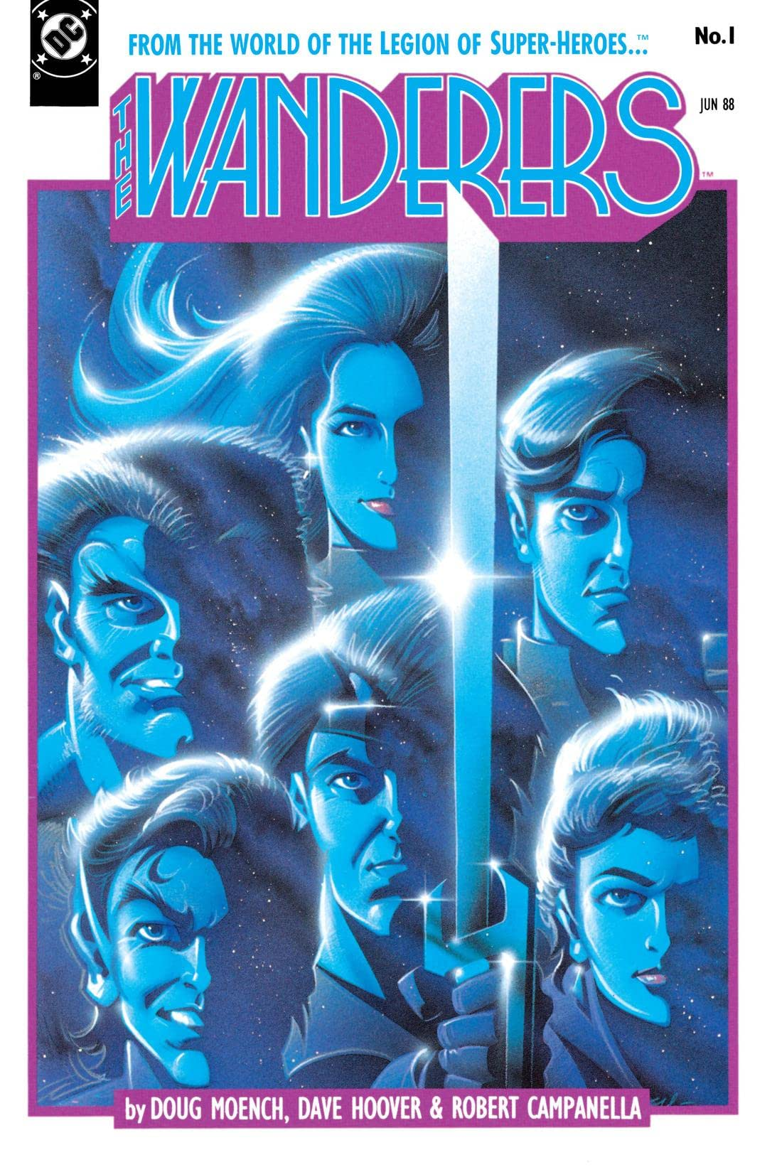 The Wanderers (1988-1989) #1
