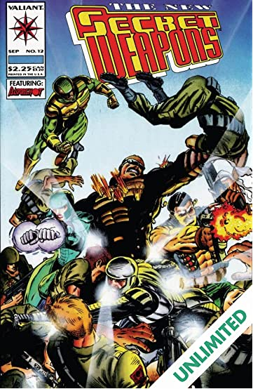 Secret Weapons (1993) #12