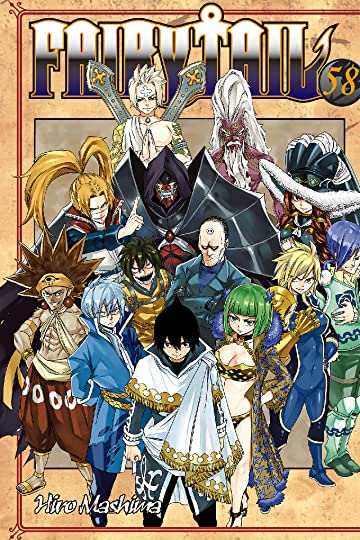 Fairy Tail Vol. 58