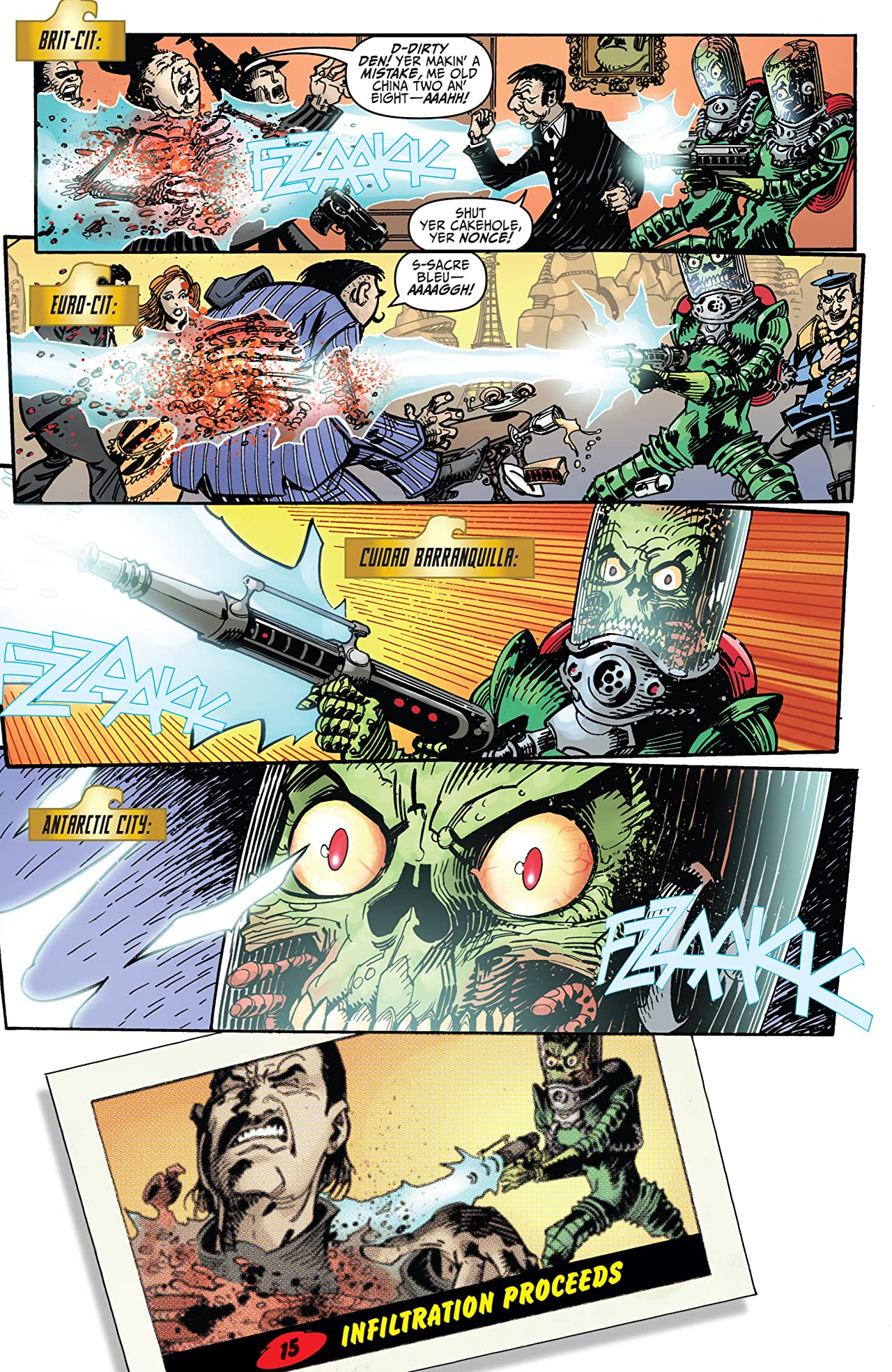 Mars Attacks Judge Dredd #2 (of 4)