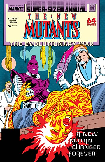 New Mutants (1983-1991) Annual #4