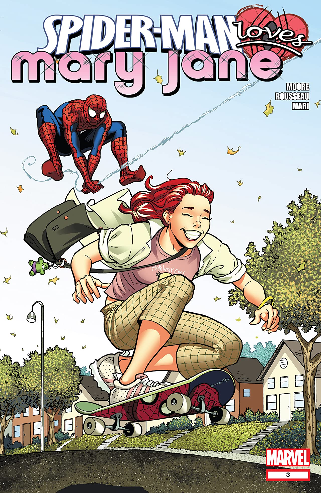 Spider-Man Loves Mary Jane (2008) #3 (of 5)
