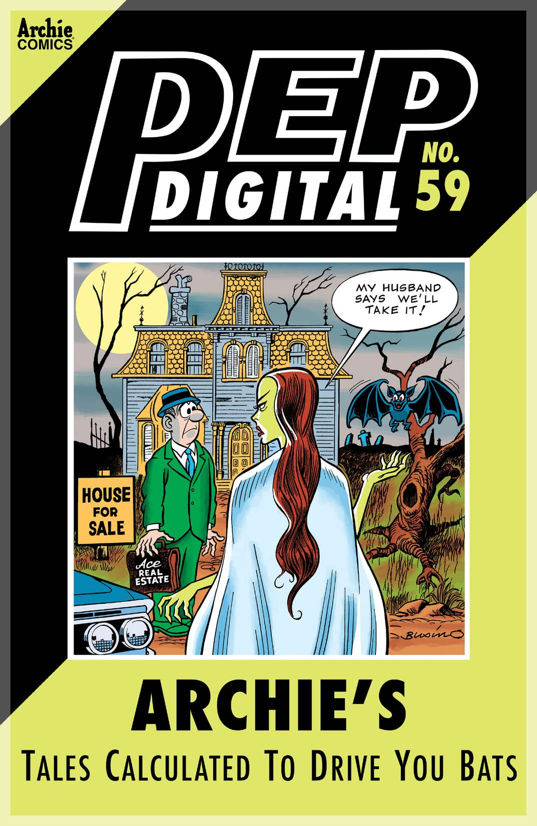 PEP Digital #59: Archie's Tales Calculated to Drive You Bats