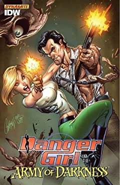 Danger Girl and the Army of Darkness