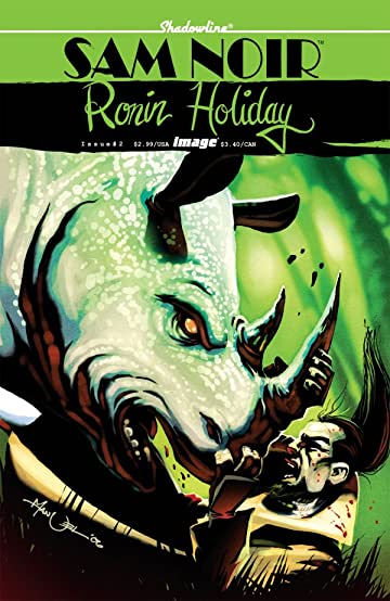 Sam Noir: Ronin Holiday #2 (of 3)