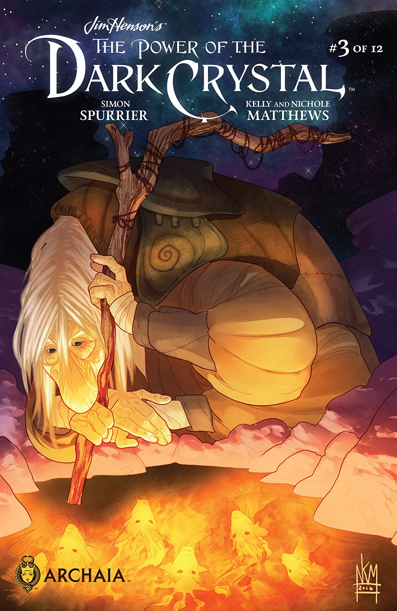 Jim Henson's The Power of the Dark Crystal #3 (of 12)