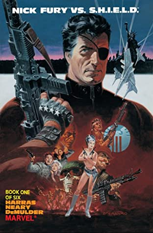 Nick Fury vs. S.H.I.E.L.D. (1988) No.1 (sur 6)