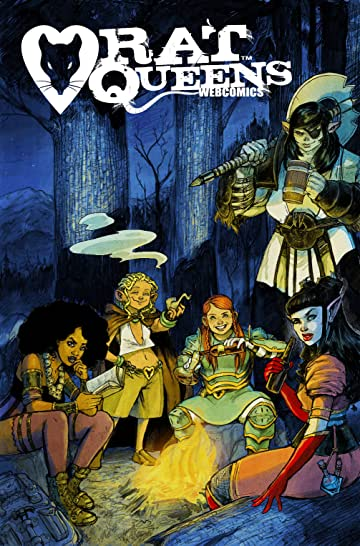 Rat Queens Webcomics