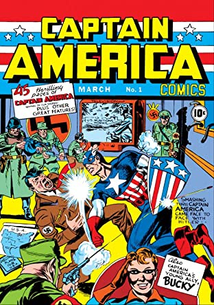 Captain America Comics (1941-1950) #1