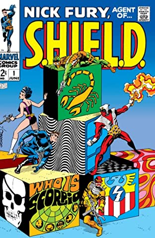 Nick Fury: Agent of S.H.I.E.L.D. (1968-1971) No.1