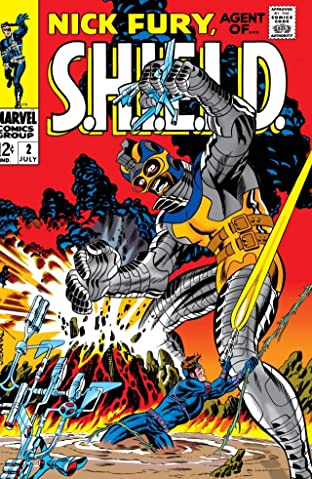 Nick Fury: Agent of S.H.I.E.L.D. (1968-1971) No.2