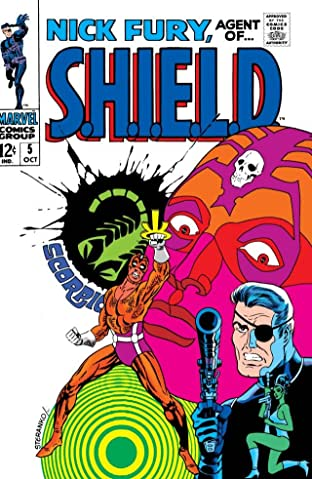 Nick Fury: Agent of S.H.I.E.L.D. (1968-1971) No.5