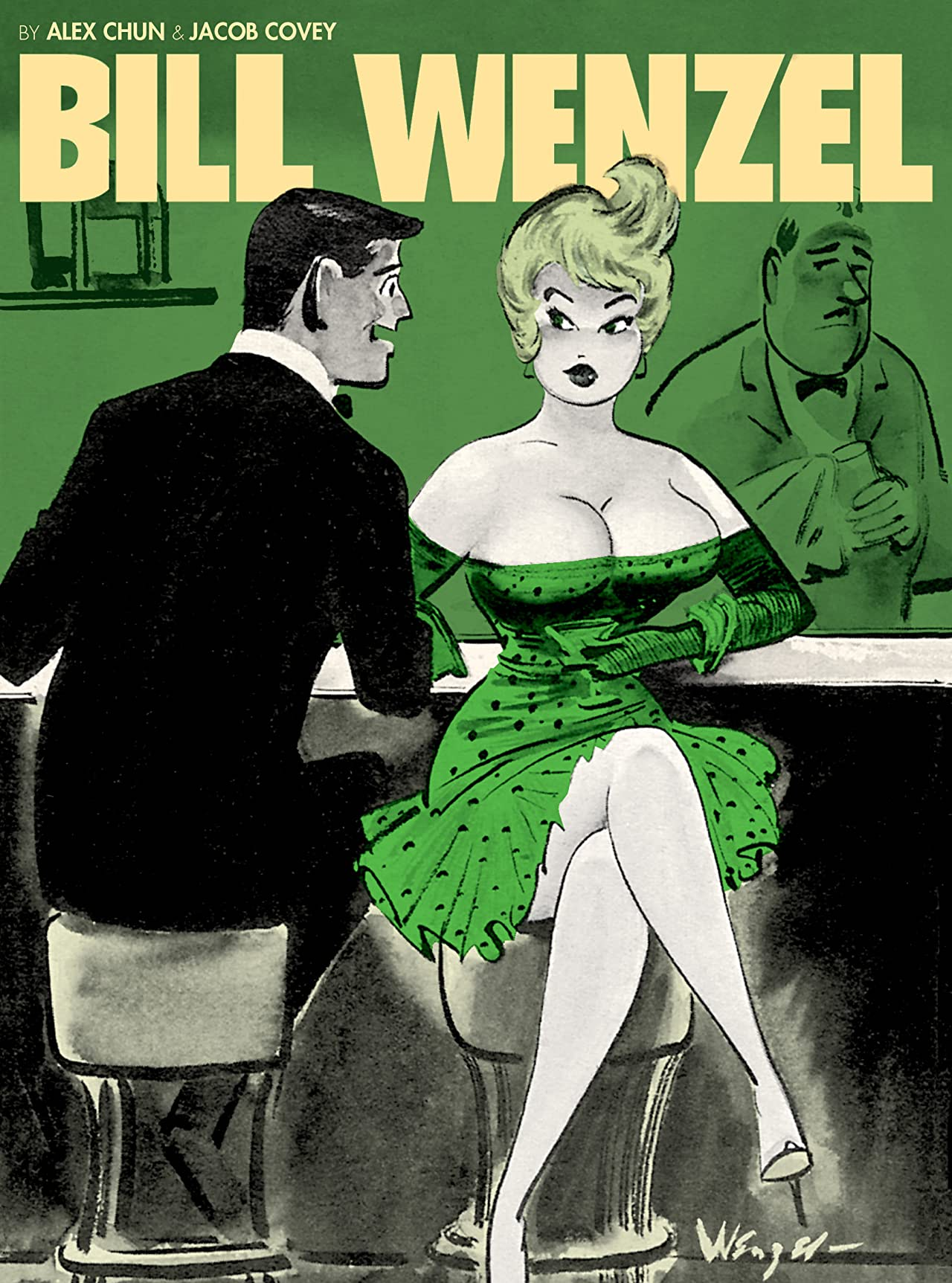 The Pin-Up Art of Bill Wenzel