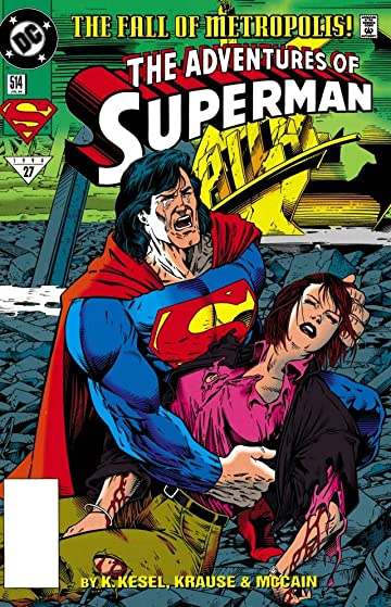 Adventures of Superman (1986-2006) #514