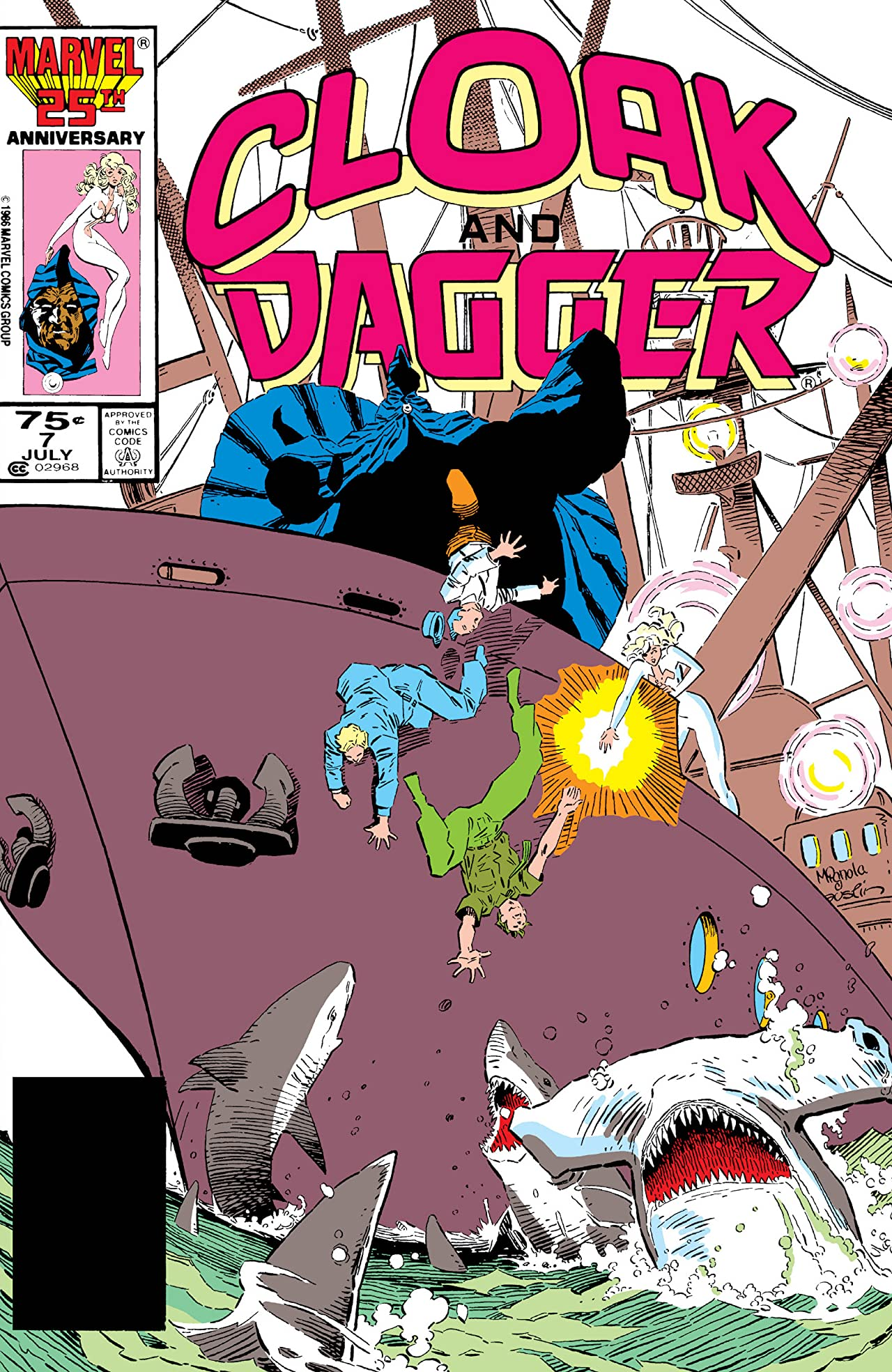 Cloak and Dagger (1985-1987) #7