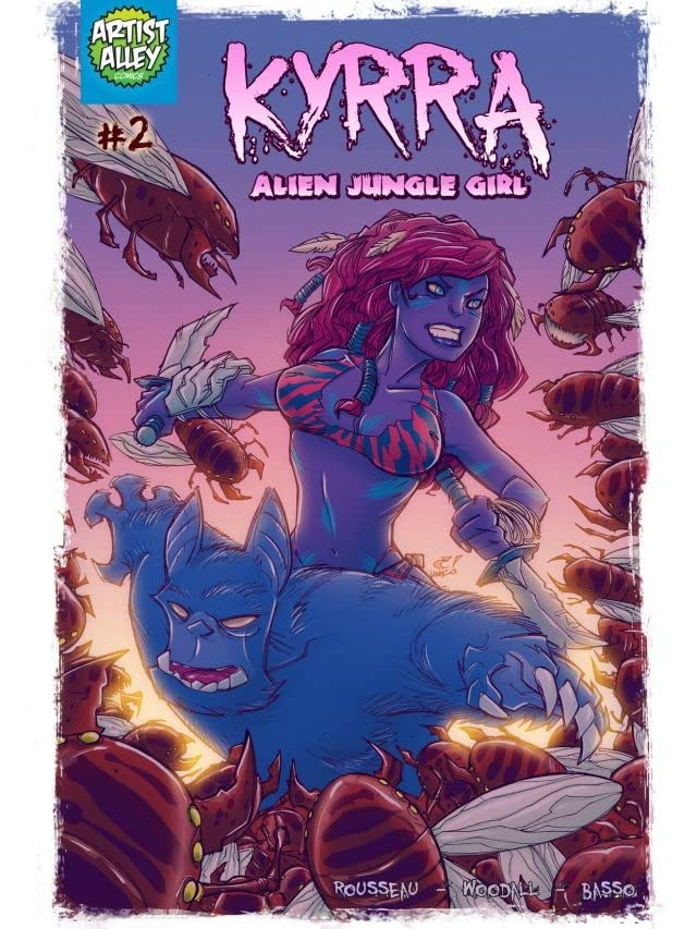 Kyrra: Alien Jungle Girl #2