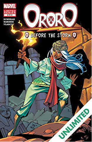 Ororo: Before The Storm (2005) #2 (of 4)