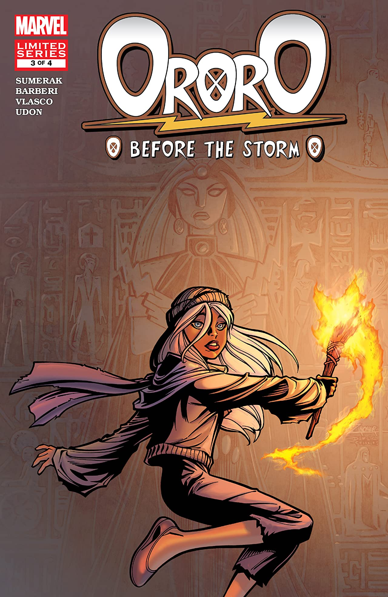 Ororo: Before The Storm (2005) #3 (of 4)