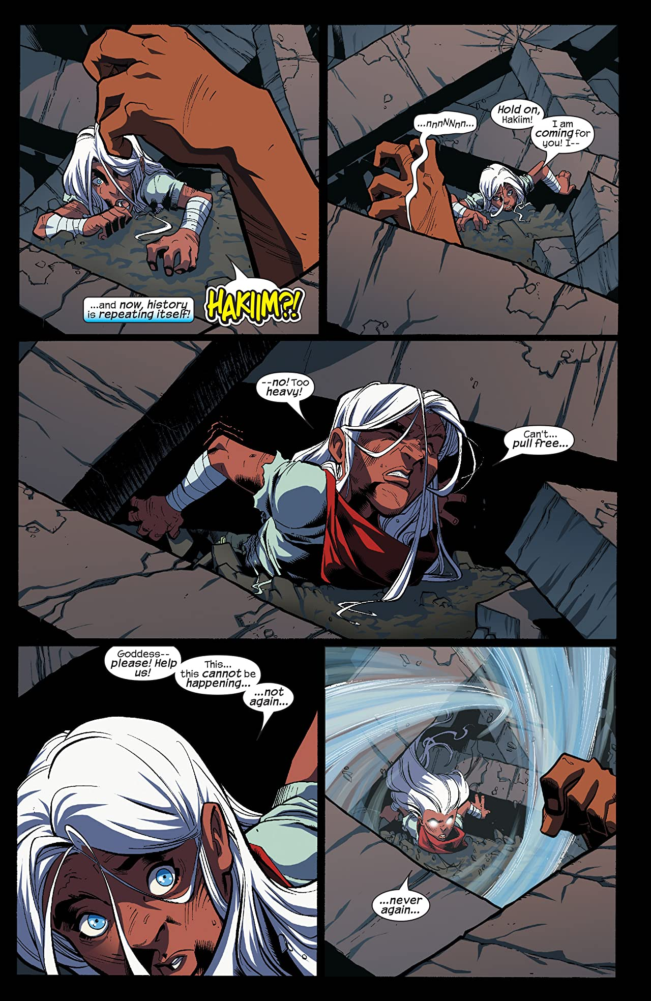 Ororo: Before The Storm (2005) #4 (of 4)